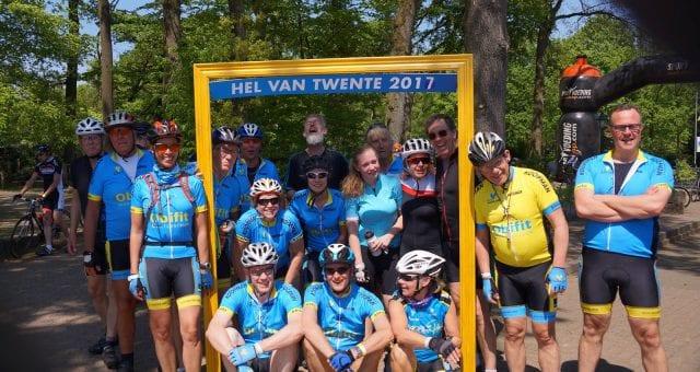 Bijna 1400 fietsers bij hete Hel van Twente