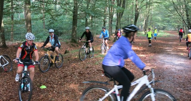 Met plezier leren mountainbiken bij Ruiten Drie