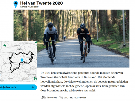 """Hel van Twente tocht """"die je niet mag missen"""""""
